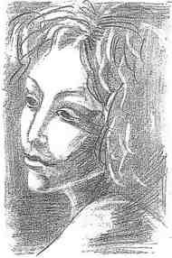рисунок ученика, ранее не умевшего рисовать